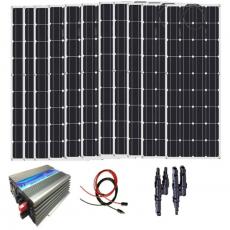 Kit Solar Fotovoltaico 1000w
