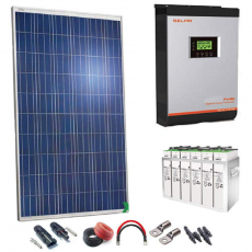 Kit Solar Fotovoltaico 3000w